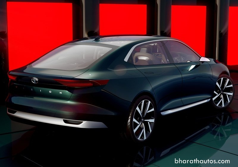 Tata e vision sedan concept unveiled at 2018 geneva motor show for Tata motors electric car