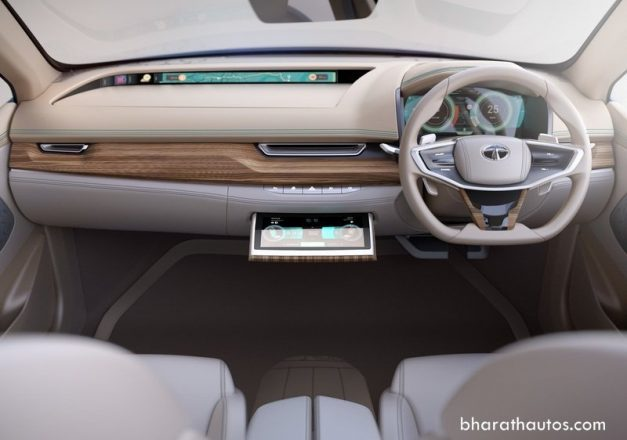 tata-evision-ev-electric-sedan-concept-2018-geneva-full-digital-instrument-cluster-touchscreen-system-pictures-photos-images-snaps-gallery