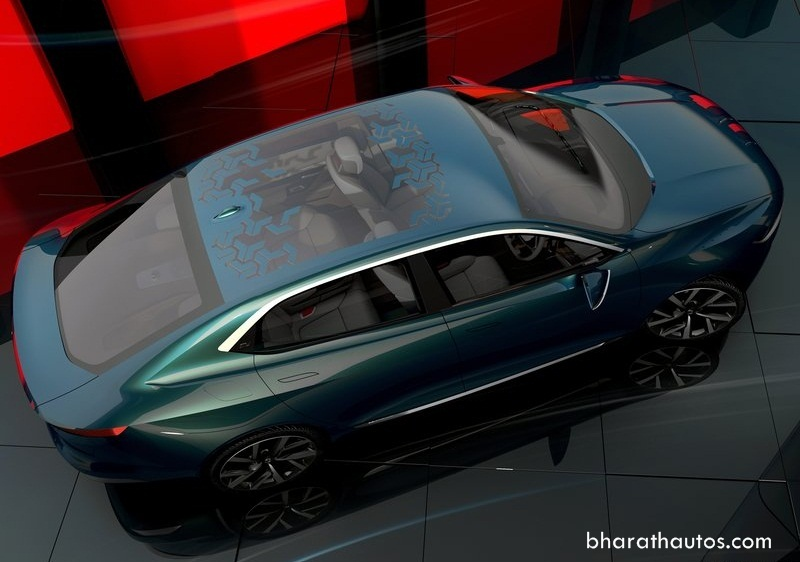 Tata e vision sedan concept unveiled at 2018 geneva motor show for Tata motors future cars