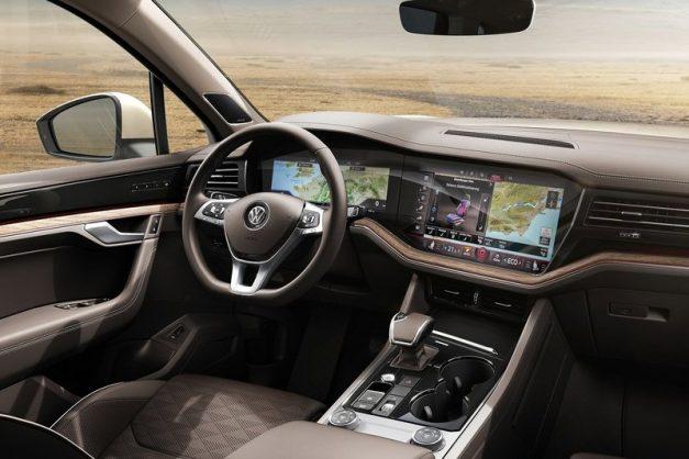 volkswagen-mid-size-suv-dashboard-interior-cabin-inside-china-august-2018