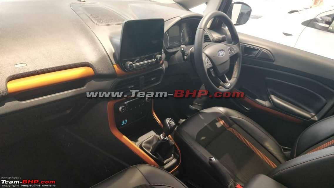 Ford Ecosport Titanium S Kerala Pictures Photos Images Snaps Gallery Dashboard