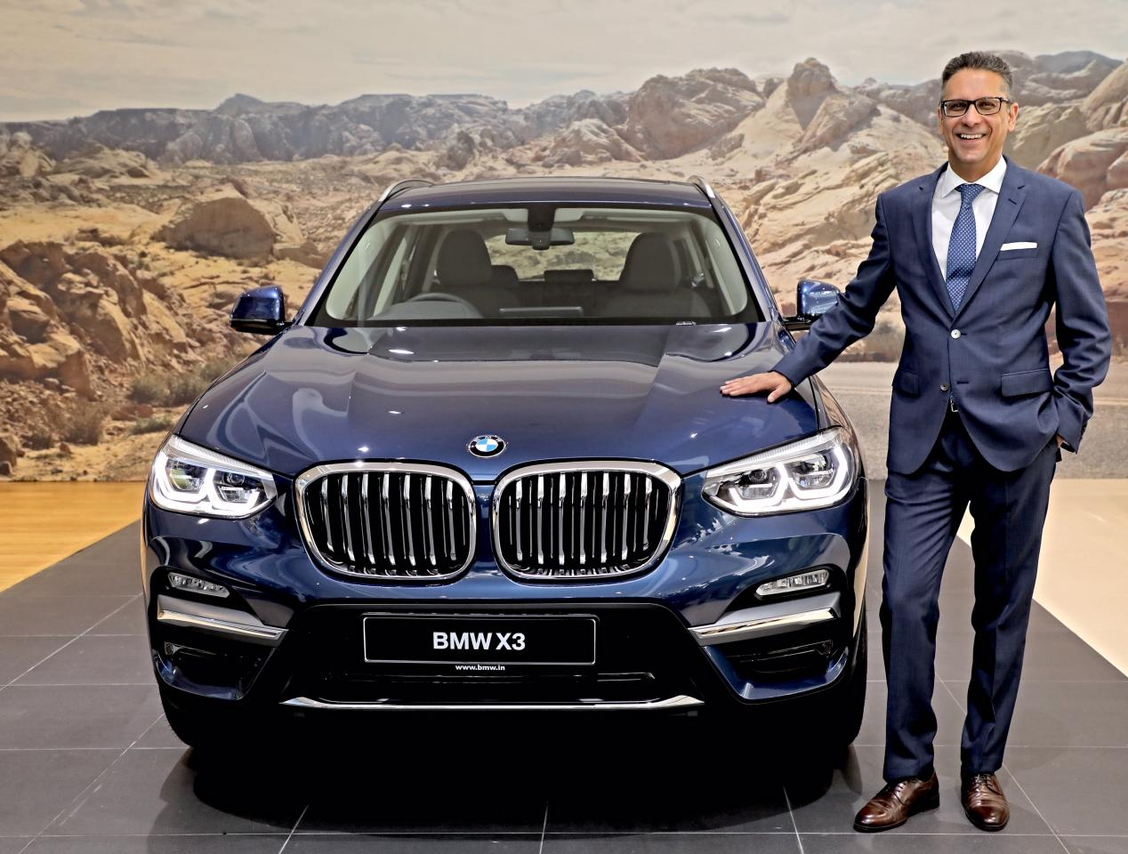 Bmw Launches The 2018 X3 Suv In India From Rs 49 99 Lakh