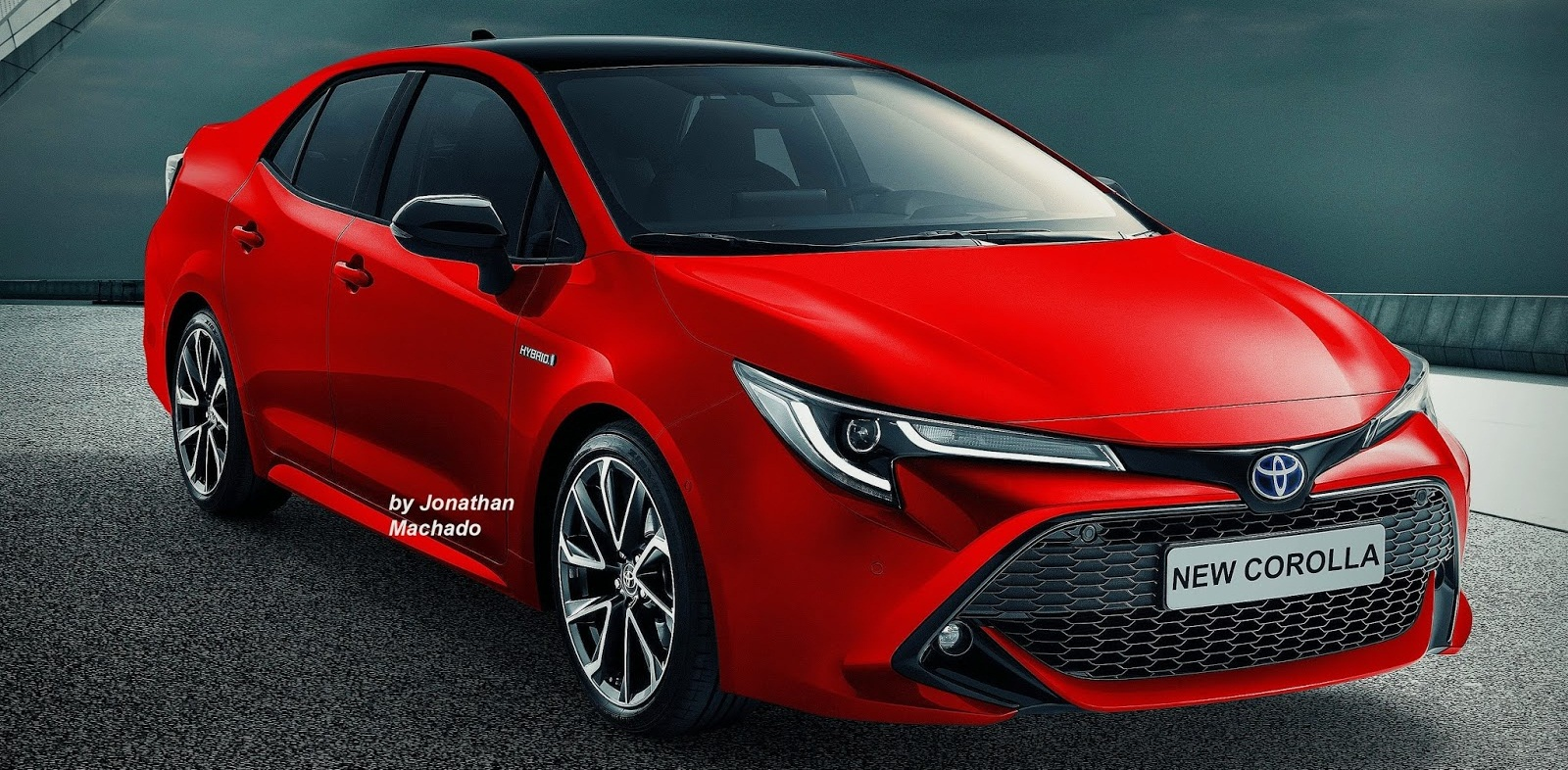 Next Gen 2019 Toyota Corolla Rendered In Multiple Colours Launch In