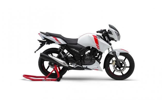 tvs-apache-rtr-160-white-race-edition-side-pictures-photos-images-snaps-gallery