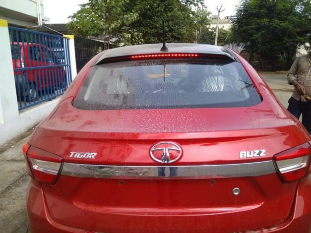 tata-tigor-buzz-edition-red-black-badge-emblem-logo-pictures-photos-images-snaps-gallery