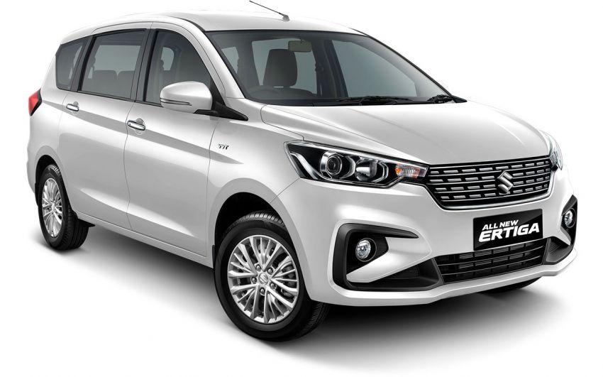 2018 Maruti Ertiga Spotted Once Again This Diwali Launch