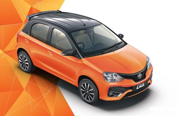 toyota-etios-liva-inferno-orange-dunt-side-2018-faceal-tone-front-side-2018-facelift-india