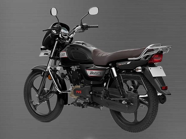 2018 Tvs Radeon 110 Rear Back India Pictures Photos Images Snaps
