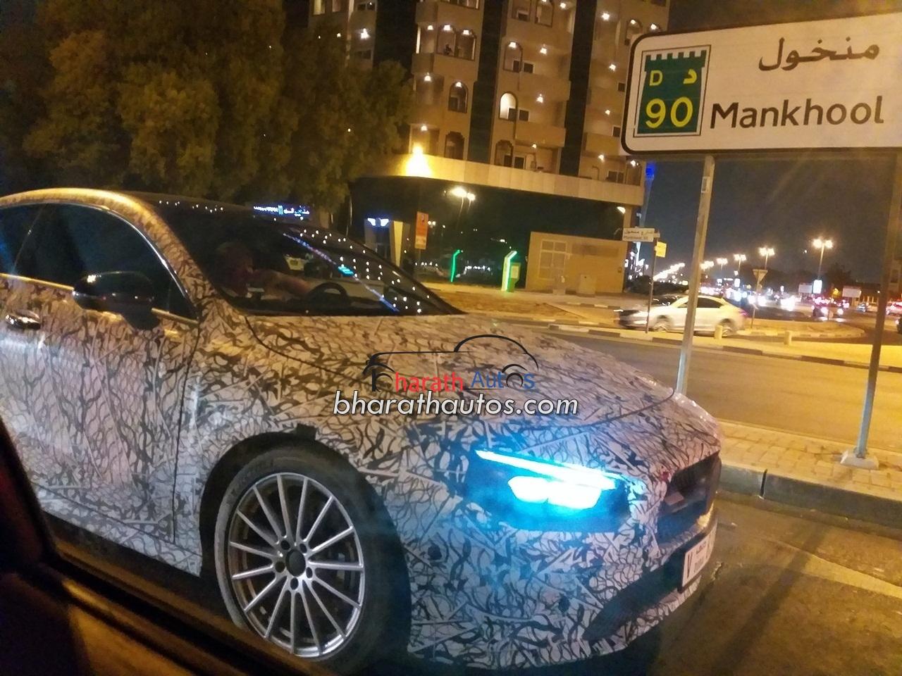 Next-generation 2020 Mercedes-Benz CLA spied testing in Dubai
