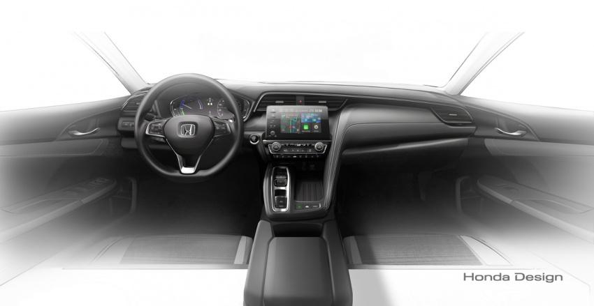 Next Generation 2020 Honda City Hybrid Dashboard Interior India