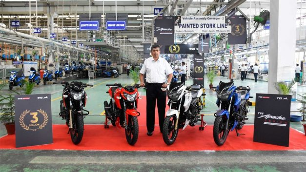 tvs-apache-3-million-sales-india-pictures-photos-images-snaps-gallery