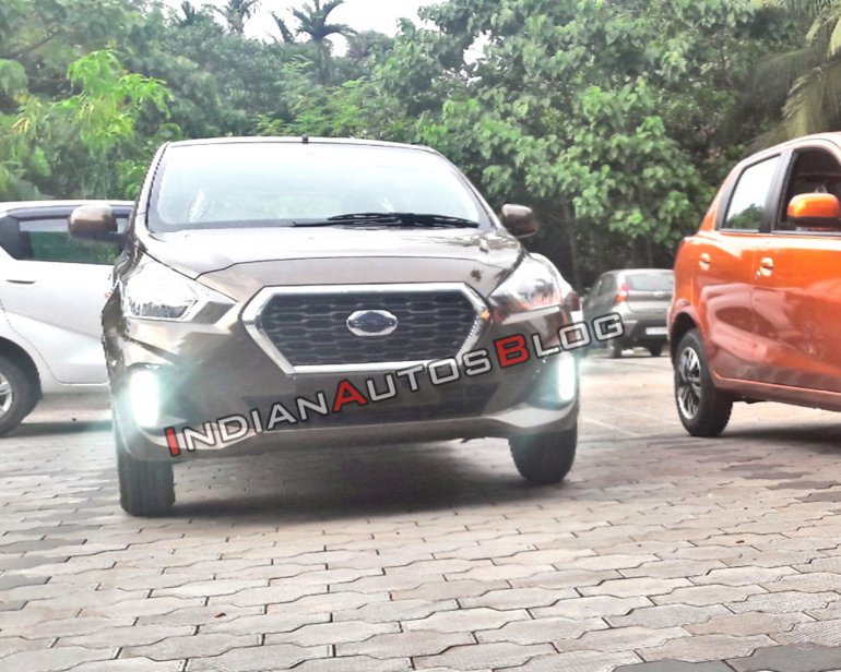 Datsun Go and Go+ facelifts spotted at dealership, ahead ...