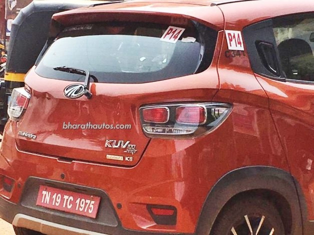 mahindra-kuv100-nxt-autoshift-amt-rear-back-pictures-photos-images-snaps-gallery