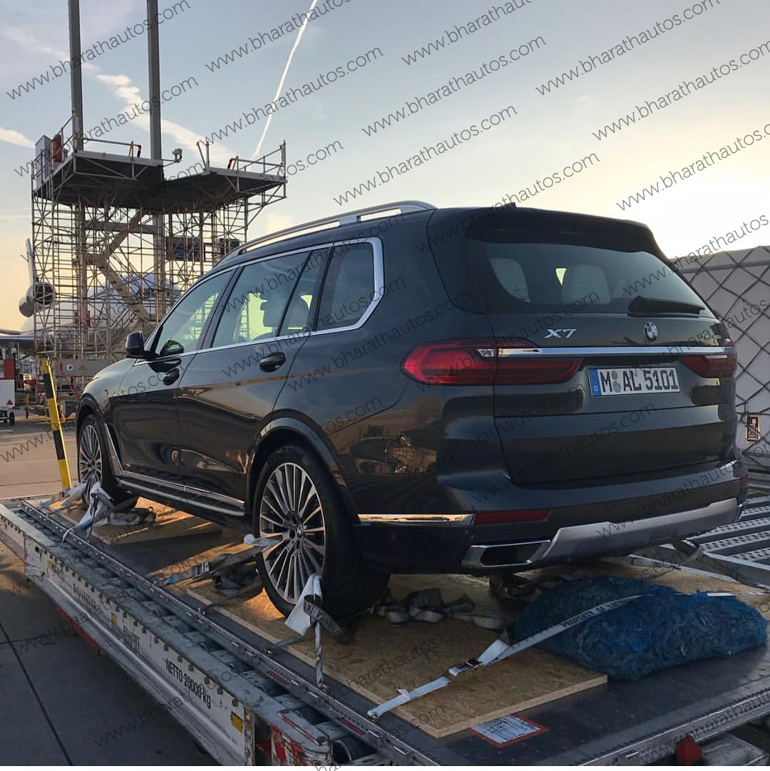 Bmw X7 2018: First Live Pictures Of All-new Three Row SUV