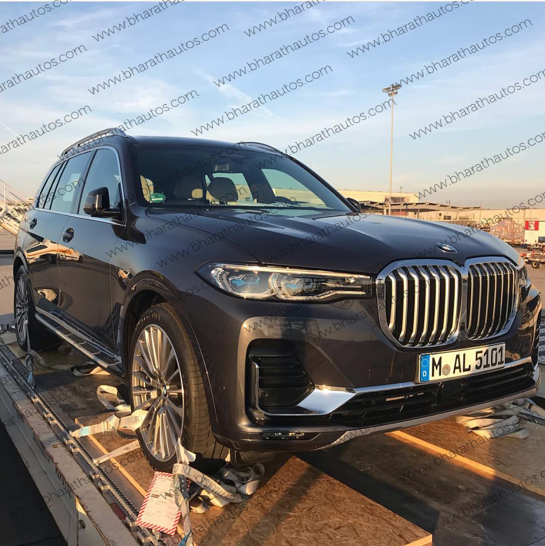 Bmw X7 Price In India: First Live Pictures Of All-new Three Row SUV