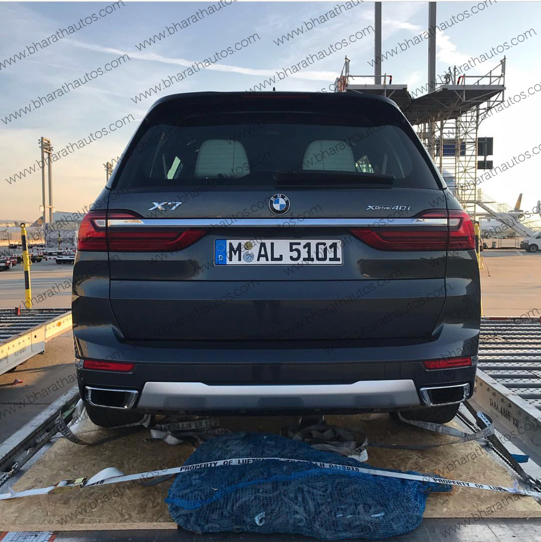 Bmw X7 Price List: First Live Pictures Of All-new Three Row SUV