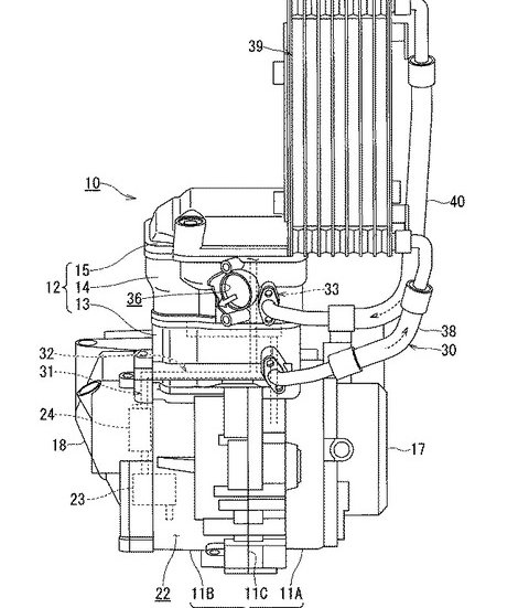 2019-suzuki-gixxer-250-leaked -engine-patent-oil-cooler-7244
