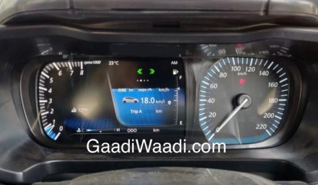 2019-tata-45x-hatchback-semi-digital-display-screen-instrument-cluster-analogue-speedometer-pictures-photos-images-snaps-gallery