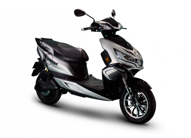 okinawa-i-praise-e-scooter-glossy-silver-black-pictures-photos-images-snaps-gallery