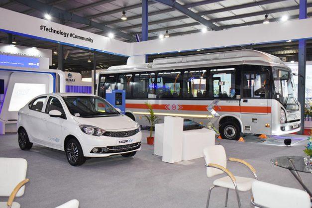 tata-tigor-ev-tata-9m-ultra-electric-bus-india-pictures-photos-images-snaps-gallery