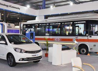 tata-tigor-ev-tata-9m-ultra-electric-bus-tata-pavilion-vibrant-gujarat