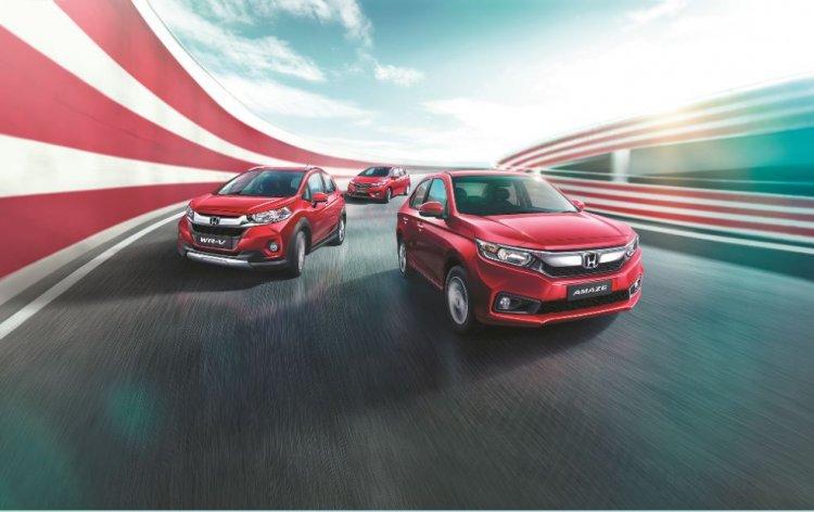 Honda Cars India Launches Exclusive Editions Of Honda Jazz Amaze Wr V