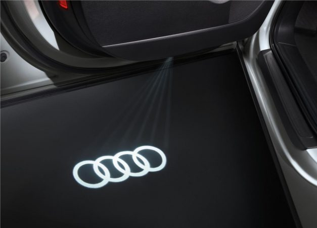 2019-audi-a6-lifestyle-edition-logo-projection-pictures-photos-images-snaps-gallery