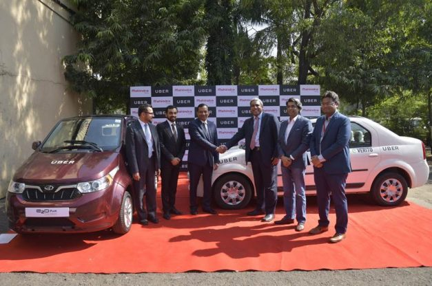 mahindra-uber-partnership-hyderabad-electric-vehicles