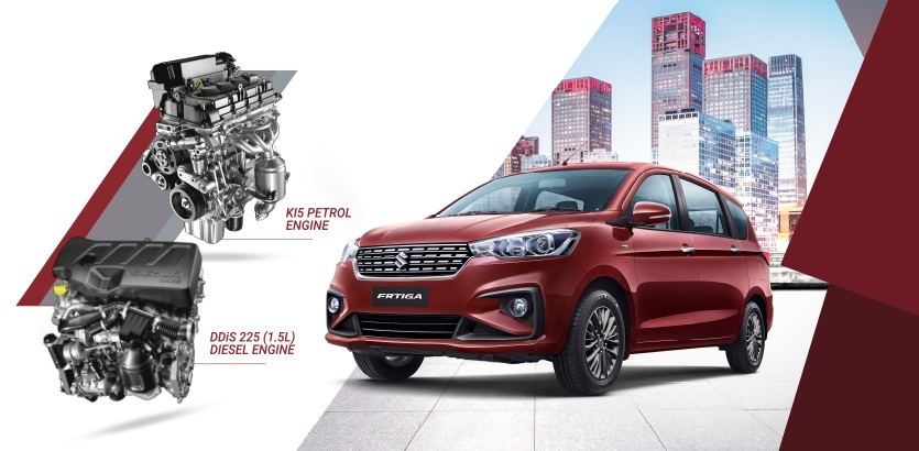 Maruti Suzuki's Ertiga gets a new 1 5L diesel engine, priced