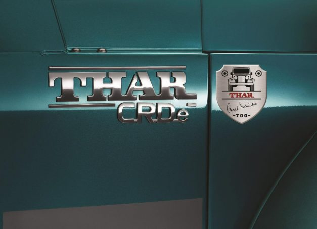mahindra-thar-700-signature-edition-badge-emblem-logo-india-pictures-photos-images-snaps-gallery