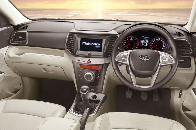 mahindra-xuv300-new-petrol-turbo-engine-di-technology-bs-6-dashboard-interior-cabin-inside