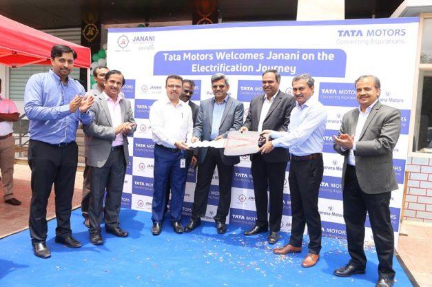 tata-motors-starts-supply-of-25-tigor-evs-to-janani-tours-in-bengaluru