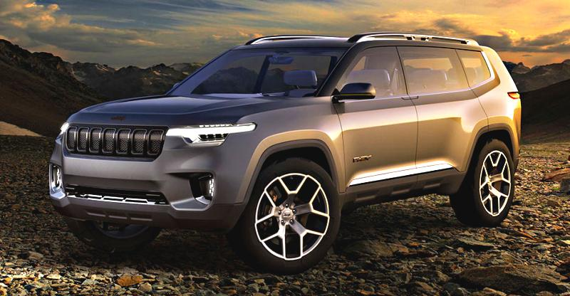 Report Jeep Planning A 7 Seat Suv And A Sub 4 Metre Suv For India