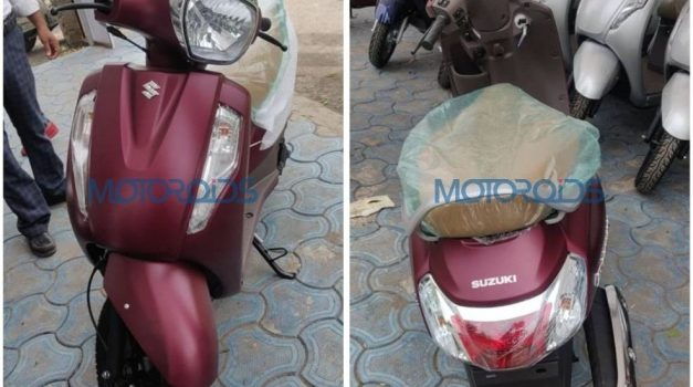 2019-new-suzuki-access-125-special-edition-matte-red-burgundy-colour-front-rear-back-india-pictures-photos-images-snaps-gallery
