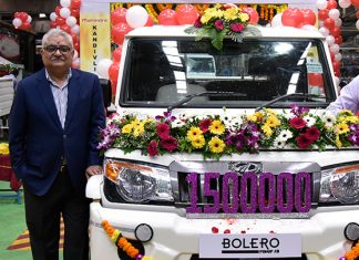 mahindra-rolls-out-15-lakh-bolero-pick-up-range-from-kandivali-plant