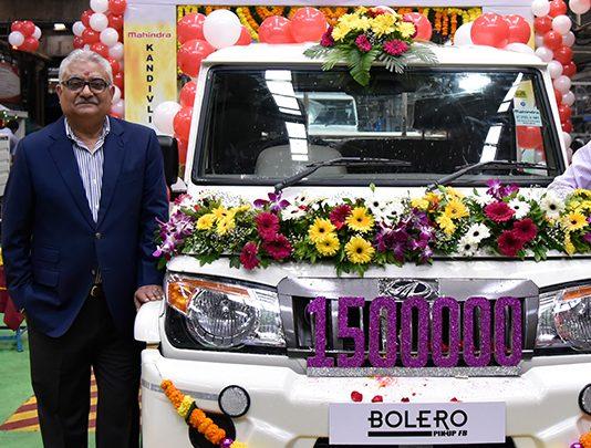 mahindra-rolls-out-15-lakh-bolero-pick-up-range-from-kandivali-plant