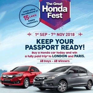 honda-cars-india-the-great-honda-fest-2019-festive-season