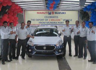 one-millionth-maruti-suzuki-car-exported-from-gujarat-mundra-port