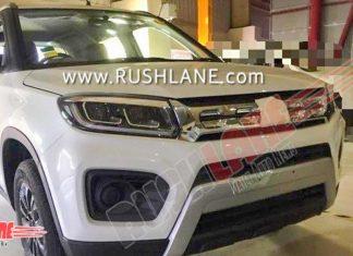 2020-maruti-vitara-brezza-facelift-spied-india-launch-date