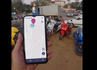 bajaj-chetak-electric-scooter-live-tracking-feature-video