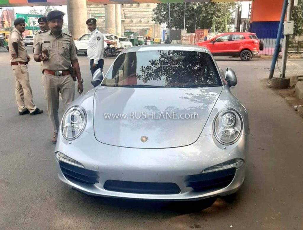 highest-ever-traffic-fine-in-india-ahmedabad-police-gujrat-porsche-911-owner-001
